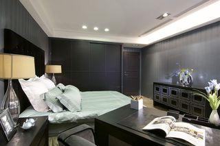 时尚黑色系简欧小卧室设计