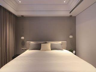 简约酒店式公寓卧室背景墙设计