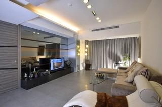 时尚现代创意设计客厅装修图