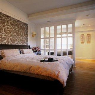 精美北欧风格卧室隔断设计