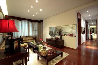 雅致东南亚自然风情客厅欣赏图