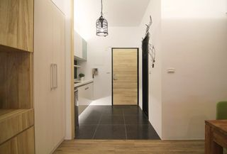小户型公寓进门玄关现代装修风格装饰图