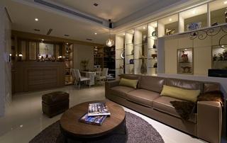8萬硬裝打造的現代簡約兩居室