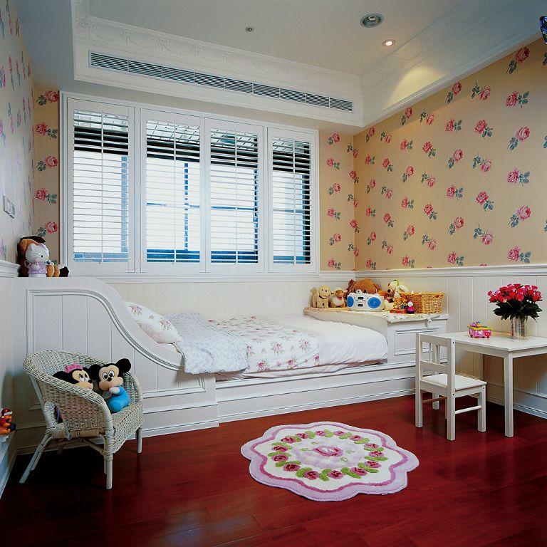 温馨美式设计装修风格儿童房装饰效果图