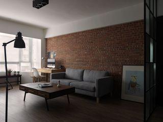 70平時尚后現代風二居室裝修