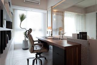 现代简约书房书桌设计