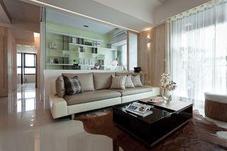 素净现代简约两室两厅效果图