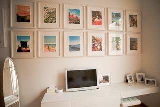 简约家居书房相片墙欣赏