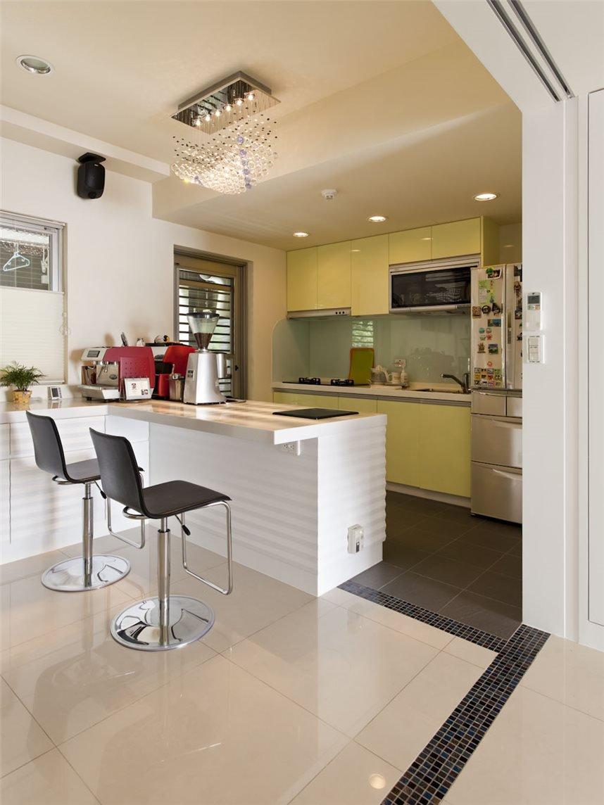 唯美现代简约家居厨房欣赏