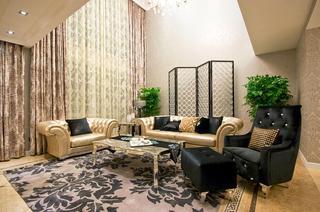 摩登新古典别墅客厅设计图