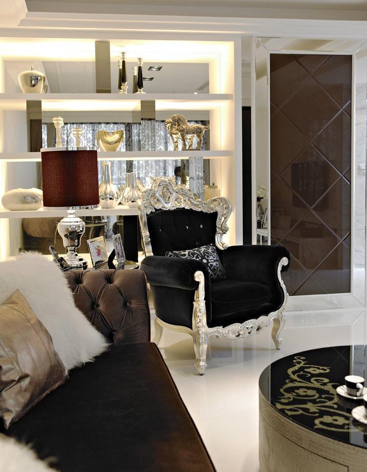 豪华欧式古典沙发配置效果图