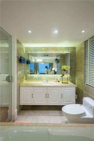 精美复古简欧 卫生间洗手台设计