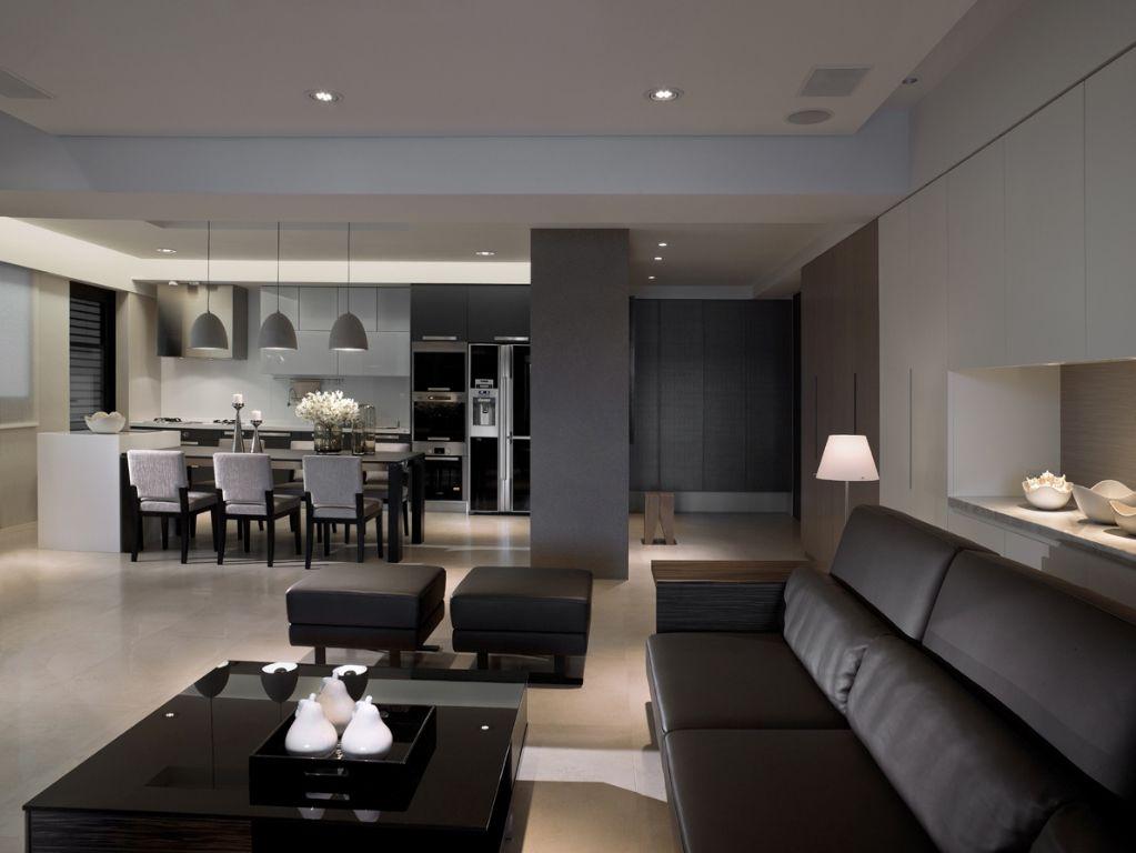 简约现代公寓家装效果图
