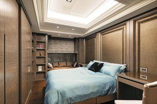 素雅别致现代卧室吊顶设计
