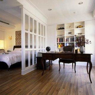 北歐風格書房臥室隔斷設計