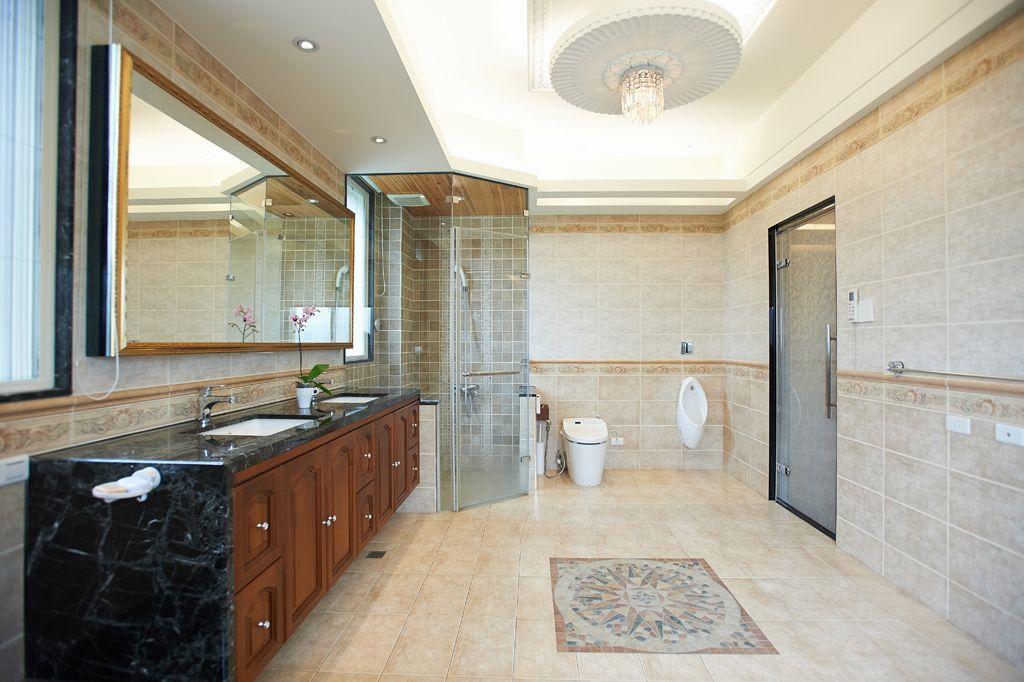 10平米别墅卫生间美式风格装修效果图