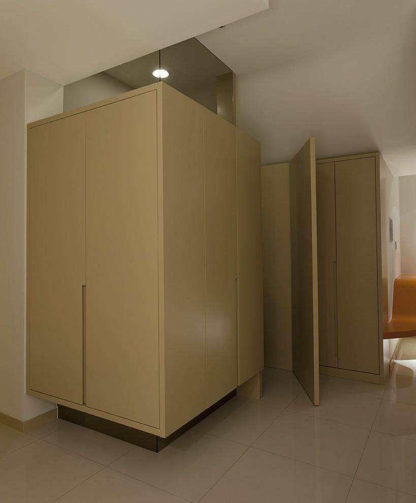 简约现代家居衣柜效果图