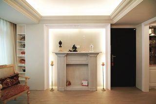 简约现代客厅背景墙设计