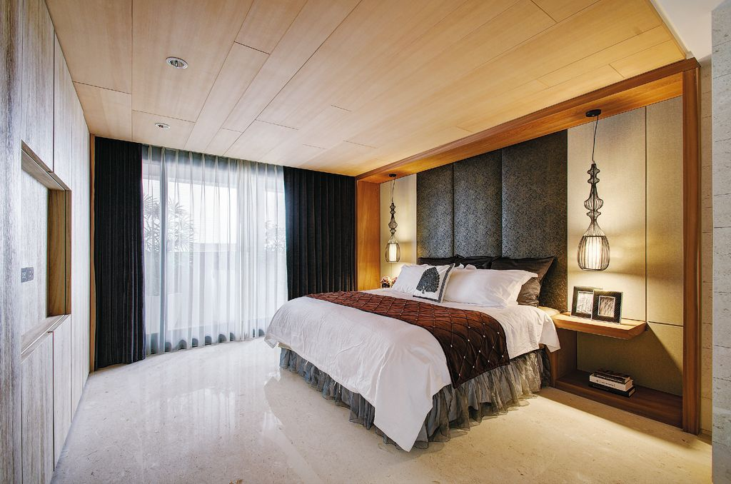休闲低奢美式客厅装饰大全