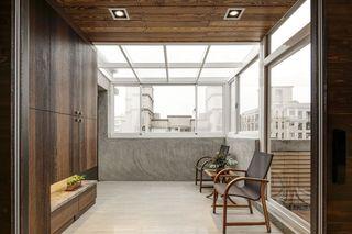 仿古现代别墅阳光房设计