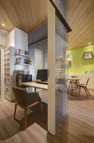 120平三居室现代日式风装修