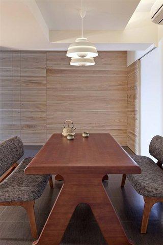 简约宜家风 实木餐厅设计