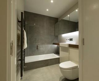 简约现代风浴室效果图