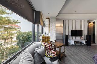 时尚现代家居景观窗设计