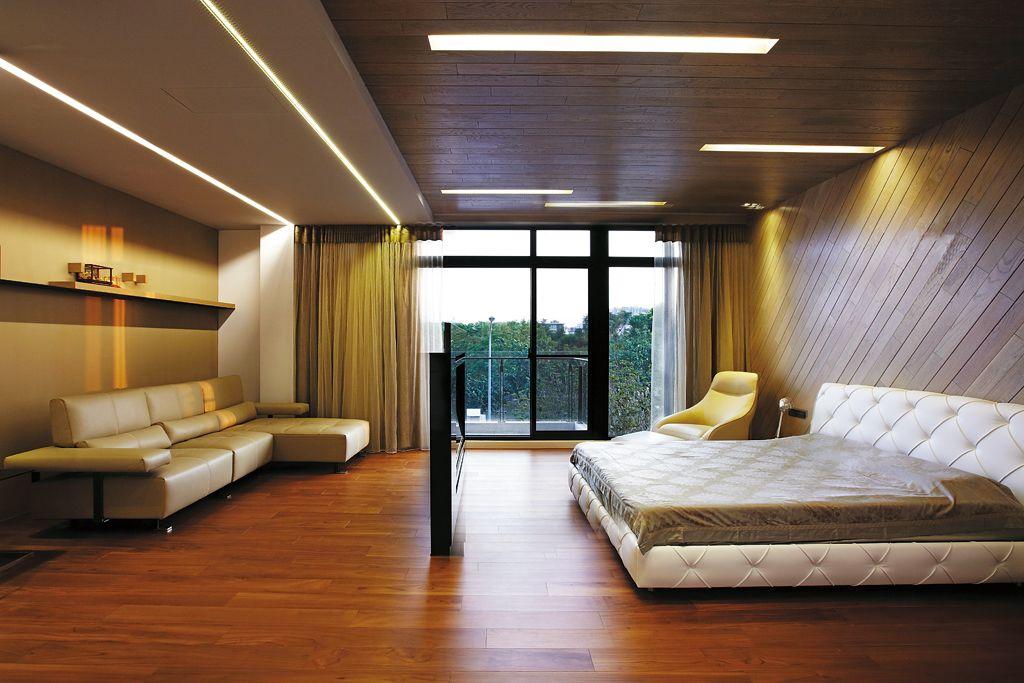 时尚大方宜家风 大卧室设计大全