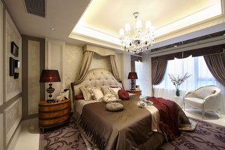雅致新古典风格卧室软装装饰