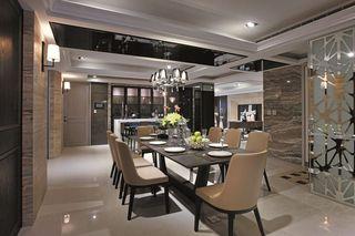 摩登时尚现代豪华餐厅装修案例图
