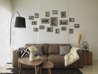 简约家装相片墙装饰效果图