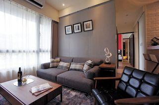 古朴简约后现代客厅软装饰搭配