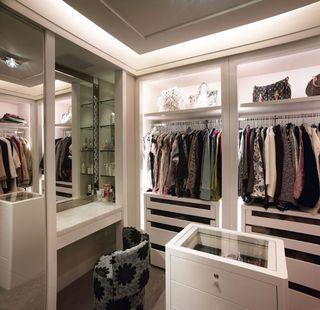 时尚潮流现代家居衣帽间设计