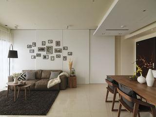 家装室内简约设计隔断装饰图