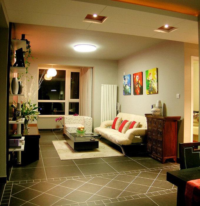 时尚复古美式 客厅装饰大全