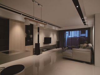素雅现代简约客厅设计