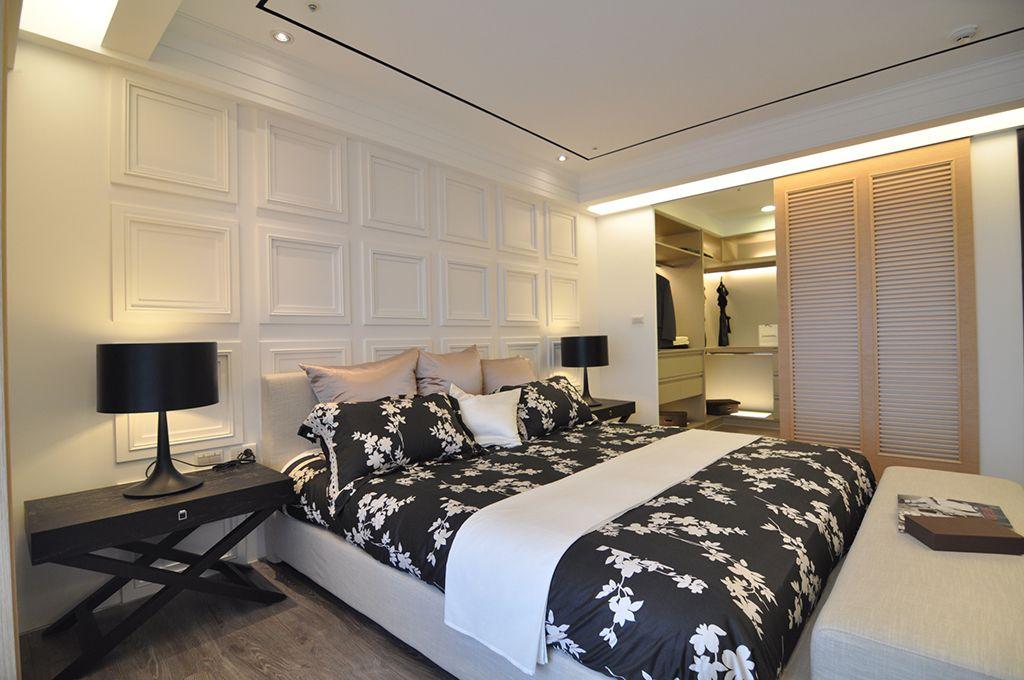 时尚现代风格卧室装修设计