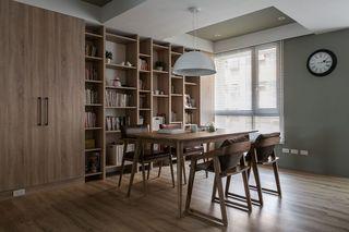 实木现代家居餐厅装修设计图