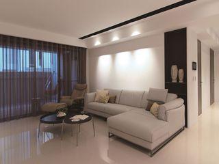 时尚简约客厅 沙发背景墙设计