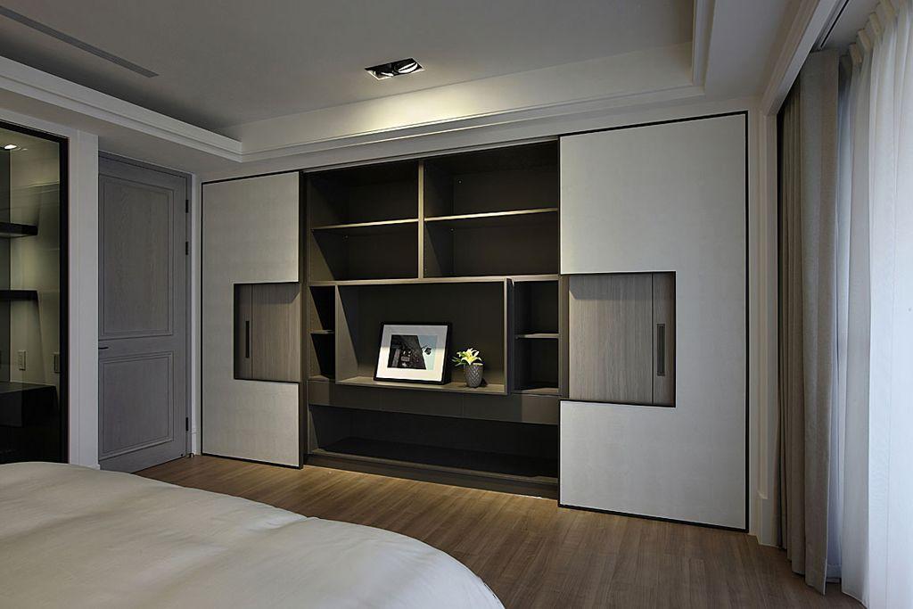 时尚现代风 卧室整体展示柜设计