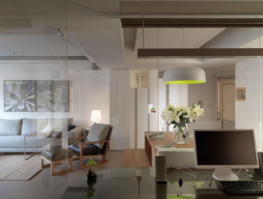 时尚现代家居书房吊顶效果图