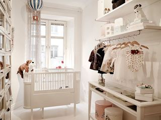 唯美白色北欧儿童房设计