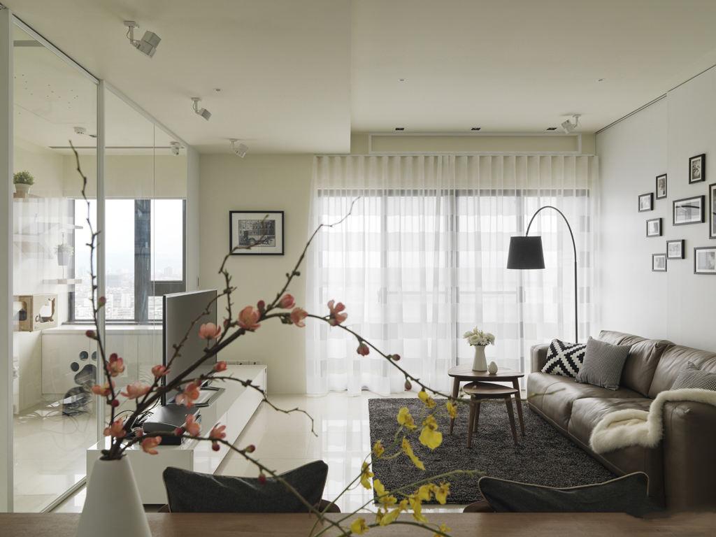 家装简约客厅设计装修效果图