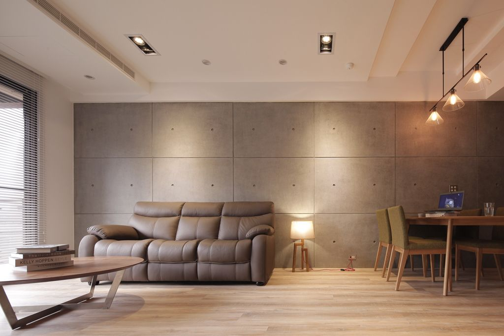 简约舒适日式风格客厅沙发布置