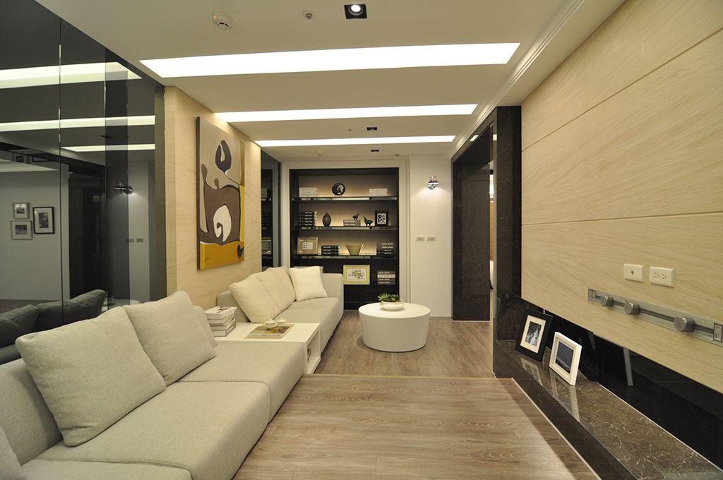 时尚现代设计 别墅室内吊顶效果图
