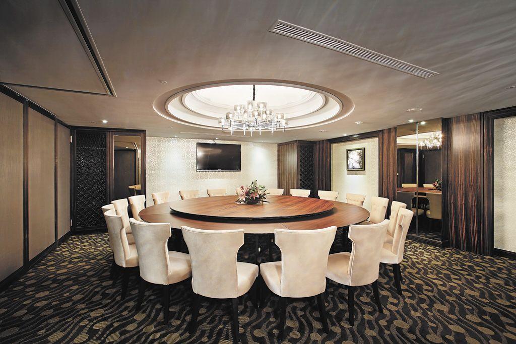奢华新古典餐厅装饰效果图