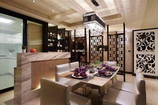 现代中式风餐厅吊灯欣赏