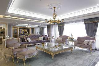 浪漫欧式新古典 客厅装饰设计