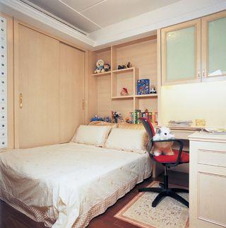 宜家美式 卧室背景墙设计